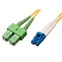 Tripp Lite N366-01M-AP Duplex Singlemode 8.3/125 Fiber Patch Cable (LC to SC/APC) 3 Feet