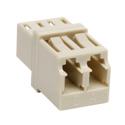 Tripp Lite N455-000-PM Duplex Multimode Fiber Optic Coupler (LC/LC)