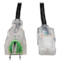 Tripp Lite P006-006-HG13CL Hospital-Grade Computer Power Cord - Clear Plugs 13A 16  AWG (NEMA 5-15P - IEC-320-C13) 6 ft.