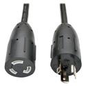 Tripp Lite P046-006-LL Twist Lock Power Extension Cord 20A 12 AWG (NEMA L5-20P to NEMA L5-20R) Locking Connectors 6 ft.