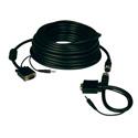 Tripp Lite P504-050-EZ Easy Pull SVGA VGA Monitor & Audio Cable w RGB Coax 50ft