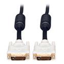 Tripp Lite P568-003 50ft DVI Dual Link TMDS Cable Molded Shielded DVI-D M/M 50Ft