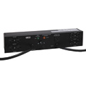 Tripp Lite PDUB20 PDU Dual Source Hot Swap 100-127V 16A 8 5-15/20R Horizontal 2URM