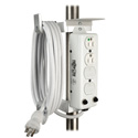 Tripp Lite PSCLAMP Medical Power Strip Mounting Clamp Drip Shield & Cord Management