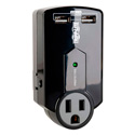 Tripp Lite SK120USB 3-Outlet 540 Joules Protect It Surge Suppressor- USB Charger