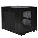 Tripp Lite SR12UB 12U Rack Enclosure Server Cabinet Doors & Sides 1000 pound capacity