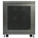 Tripp Lite SR18UB 18U Rack Enclosure Server Cabinet 33 Inch Deep w /  Doors & Sides