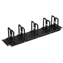Tripp Lite SRCABLERING2U Rack Enclosure Cabinet Horizontal Cable Ring Flexible 2URM