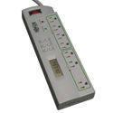 Tripp Lite TLP78TUSBG Eco Surge Protector Green Timer Controlled 7 Outlet USB 8ft Cord