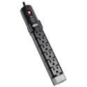 Tripp Lite TLP806TEL Protect It 8-Outlet Surge Protector 6 Foot Cord 2160 Joules Tel/DSL Protection Cord Clip