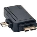 Tripp Lite U053-000-OTG 2-in-1 OTG Adapter USB 3.0 Micro B Male and USB 2.0 Micro B Male to USB A Female