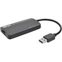 Tripp Lite U344-001-DP-4K USB 3.0 SuperSpeed to DisplayPort Dual-Monitor External Vid Graphics Card Adapter 512 MB SDRAM