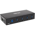 Tripp Lite U360-004-IND 4-Port Rugged Industrial USB 3.0 SuperSpeed Hub with 15KV ESD Immunity and Metal Case Mountable