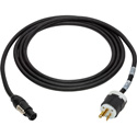 Laird TRUE1-AC20IN-003 Neutrik TRUE1 powerCON to NEMA5-20P 20-Amp Power IN Cable - 3 Foot