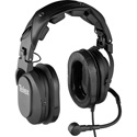 Telex HR-2 A4F Dual-Sided Full Cushion Medium Weight Noise Reduction Headset with A4F Connector