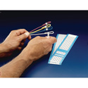 HellermannTyton TYHC1-33 Carded Adhesive Cable Markers 1-33