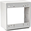 HellermannTyton TSRFW-JBD2 Dual Gang Junction Box- Off White
