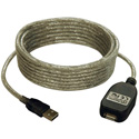 Tripp Lite U026-016 16-ft. USB2.0 A/A Active Extension Cable USB-A M/F