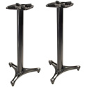 Ultimate Support MS-90-45B 45 Inch Column Studio Monitor Stand Pair