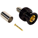 Trompeter UPL2000-D7 BNC Crimp Connector fits Belden 9221 1520 and Canare V3-1.5C V4-1.5C and V5-1.5C