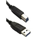 Connectronics USB 3.0 A Male to B Male Cable 1 Meter (3ft)