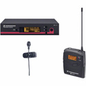 Sennheiser SK100 G3 TX - ME4 Cardioid Lav Mic System - EM100 G3RX - GA3 RM (518-558 MHz)