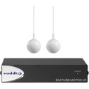 Vaddio 999-88000-000 EasyUSB MicPOD I/O with Two CeilingMICs
