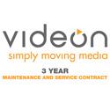 Videon EdgeCaster 3 year Premium Maintenance & Support Contract