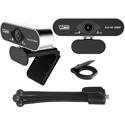 Vidpro CM-HD 1080P Full HD USB Single Webcam with Built-In Microphone & Mini Tripod