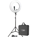 Vidpro RL-18 LED 18 Inch Ring Light Kit with Stand and Case