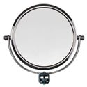 Vidpro RL-M Round Mirror with Tripod Mount for Ring Lights - Dual-Sided 7-Inch Diameter with Magnification