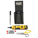 Klein Tools VDV027-813 Punchdown LAN Installer Starter Kit