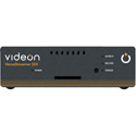 Videon VERSASTREAMER SDI 1080p60 HEVC HD Video Encoder with CEA-608/708 SMPTE 344-2 HD Closed Captioning Support