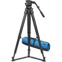 Vinten V10AS-FTGS Vision 10AS / FlowTech100 GS Tripod / Carry Handle and Soft Case