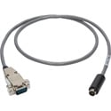 Laird VISCA-9M-100 Visca Camera Control Cable 9-Pin D-Sub Male to 8-Pin DIN Male - 100 Foot