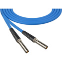 Canare VPC001FB-BE 75 Ohm Video Patch Cables 1ft - Blue