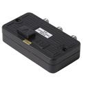 2-Way Push Button 75 Ohm RF A / B Switch Box