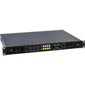 Ward-Beck AMS8-1A  8 Channel Audio Meter & Monitoring System with 4 AES/EBU Inputs 75 & 110 Ohm 1 Rack Unit