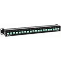 Ward-Beck IMP-20 Impedance Transformer Panel - 20 Screw Terminals to BNC 1 RU