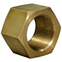 FiberPlex WCN-6 Waveguide Coupling Nut Brass 1 In Thick for Connecting WEB-6 to WGF-4 WGF-6 WGF-461 Waveguides