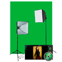 Westcott 401N Illusions uLite Green Screen Photo Lighting Kit