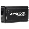 Westcott 7424 Portable D-Tap Li-ion Battery