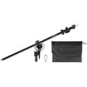 Westcott 9940 Mini-Boom Arm - Compact - Lightweight - Extends 31-57 Inches - Includes Weight Bag