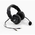 WILLIAMS AV MIC 058 Dual-Muff Headset Microphone - Dual 3.5 Mini Plugs