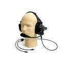 WILLIAMS AV MIC 088 Dual-Muff Hardhat Headset Microphone with Dual 3.5MM Plugs