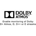 Wohler OPT-DOLBY ATMOS Enable Monitoring of Dolby Atmos D/ DDplus or E Streams - Requires Software Activation Key