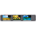 Wohler RM-2350W-HD Triple 5 Inch Widescreen LCD Video Monitor