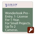 Wowow ISL-701 WonderLook Pro ENTRY One Year License - 2 Devices 3 Cameras
