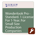 Wowow ISL-711 Wowow WonderLook Pro STANDARD One Year License - 5 Devices Unlimited Cameras