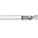 West Penn D4852 2 Pair 24 (7X32) Tinned Shielded Cm Rs-485 - 500 Foot Roll